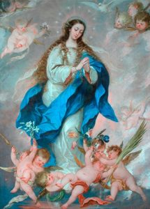 Jose Antolinez The Immaculate Conception, 1650-75 ©The Bowes Museum