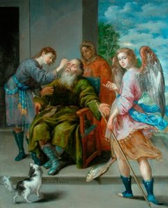 Antonio Pereda y Salgado 'Tobias Restoring his Father's Sight', 1652 ©The Bowes Museum