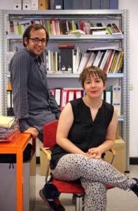 Semíramis González and Daniel Silvo