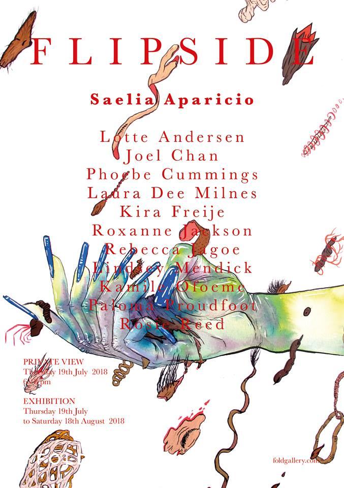 FLIPSIDE poster by Saelia Aparicio