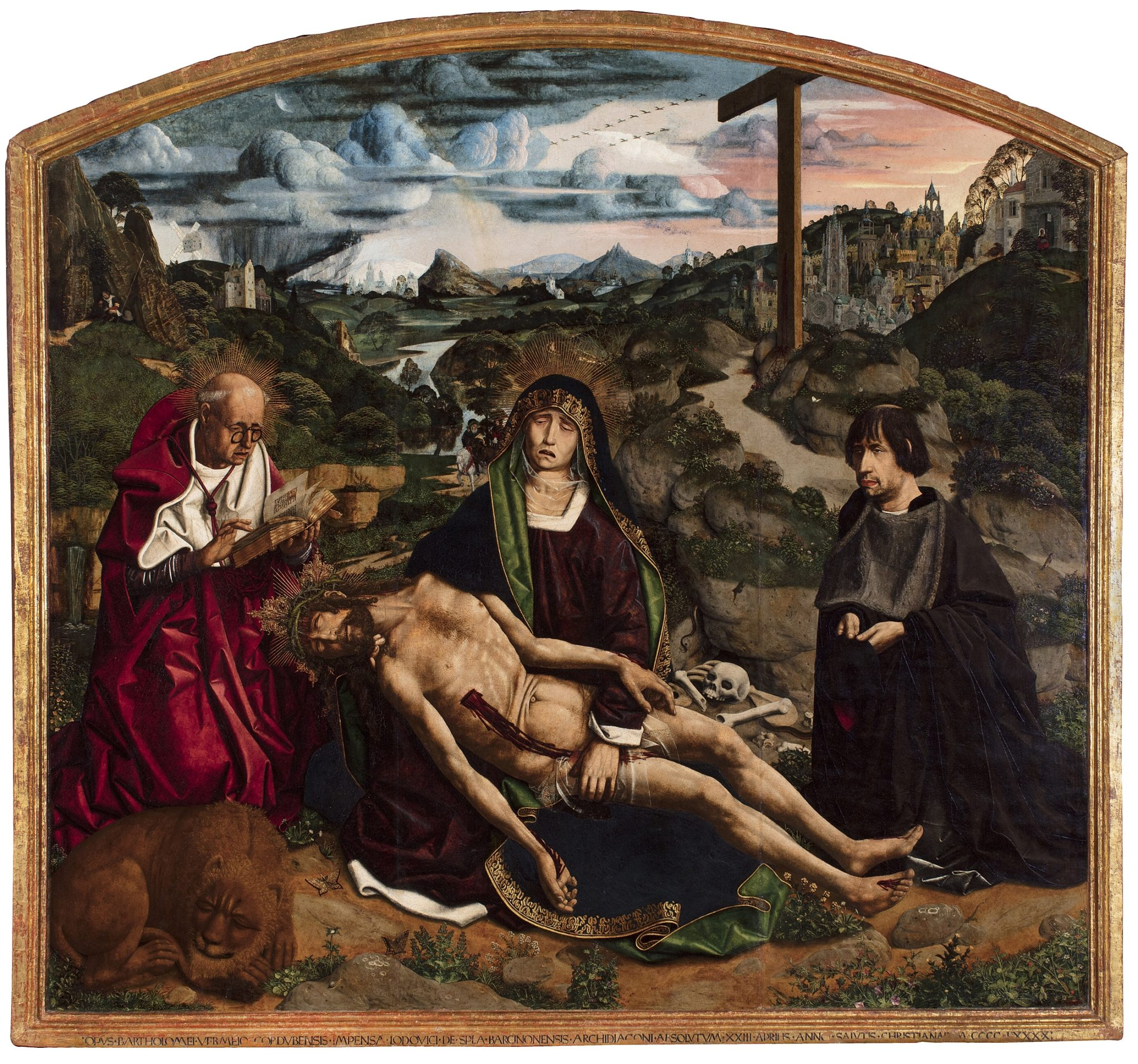 Bartolomé Bermejo, Desplà Pietà