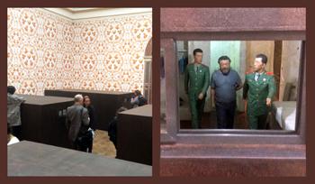 Dioramas to relive Ai's captivity