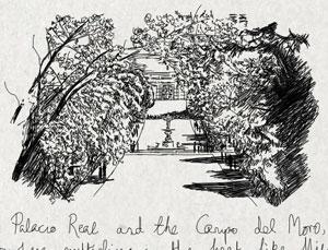 Palacio Real and the Campo del Moro